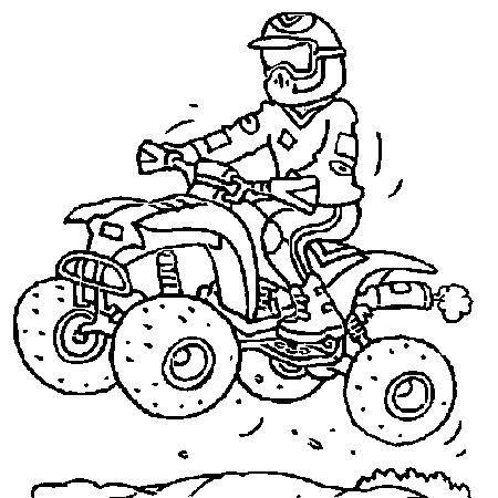 dessin de 4 roues a colorier - Les dessins et coloriage