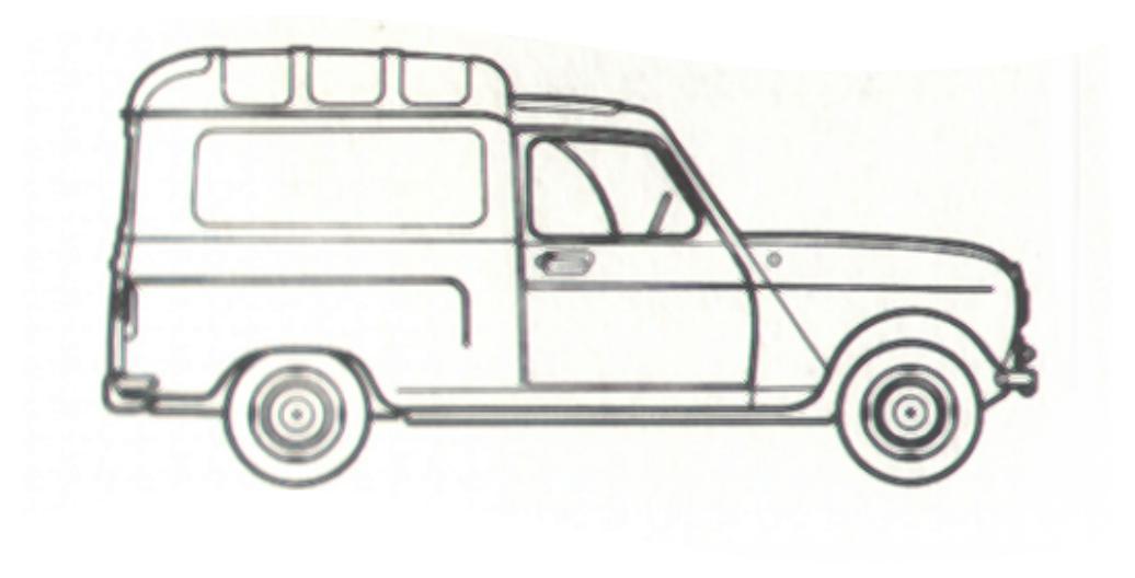 dessin de 4l