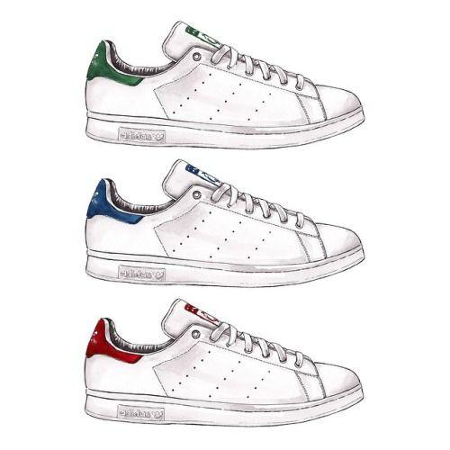 Coloriage Les De Dessin Et Adidas Dessins Yb7fy6g