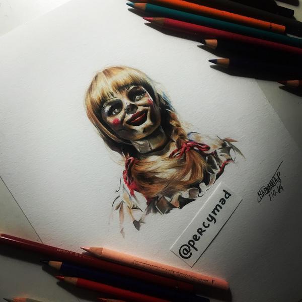 dessin de annabelle