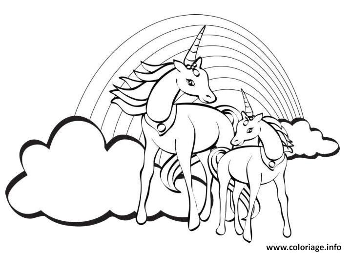 Coloriage Darc En Ciel En Ligne.Dessin De Arc En Ciel Les Dessins Et Coloriage