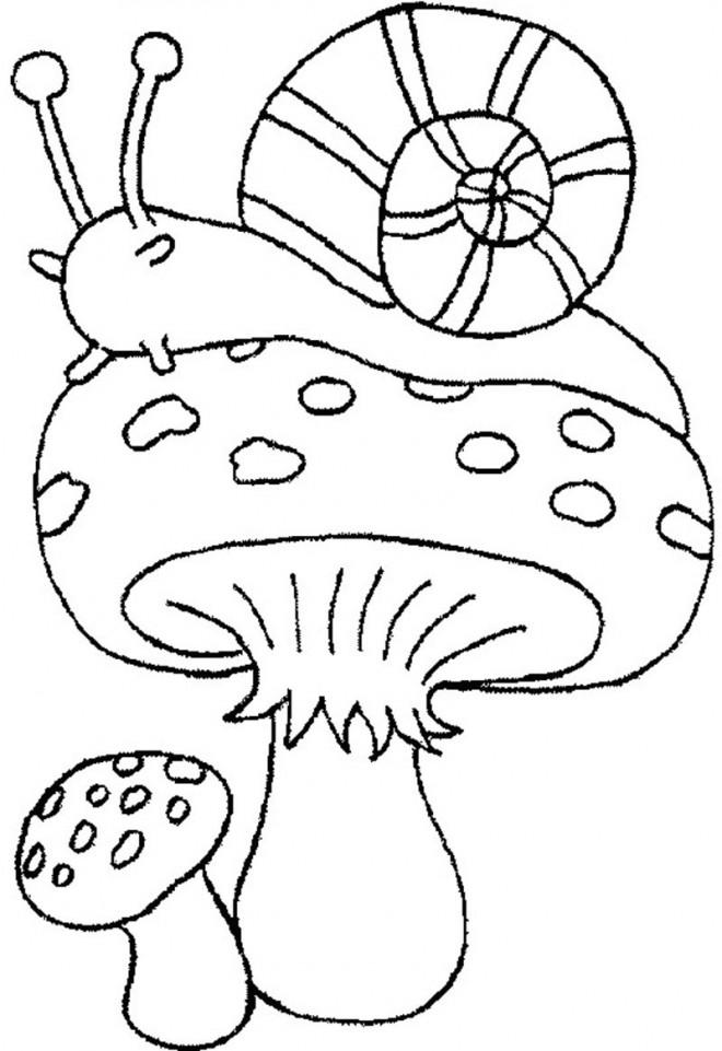 dessin de automne - Les dessins et coloriage