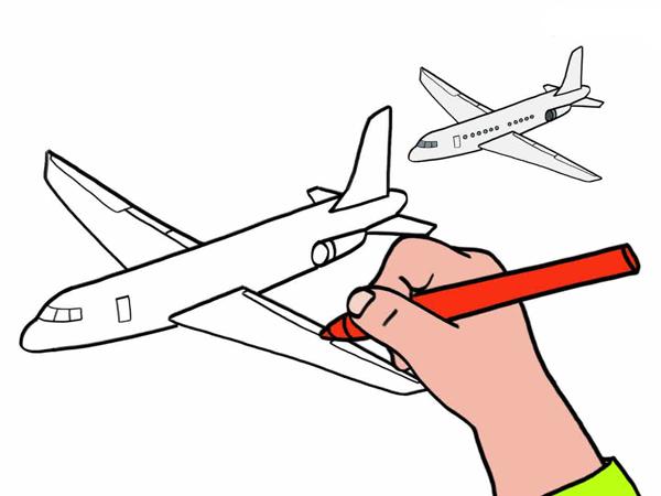 Coloriage Hugo Lescargot Avion.Dessin De Avion Les Dessins Et Coloriage
