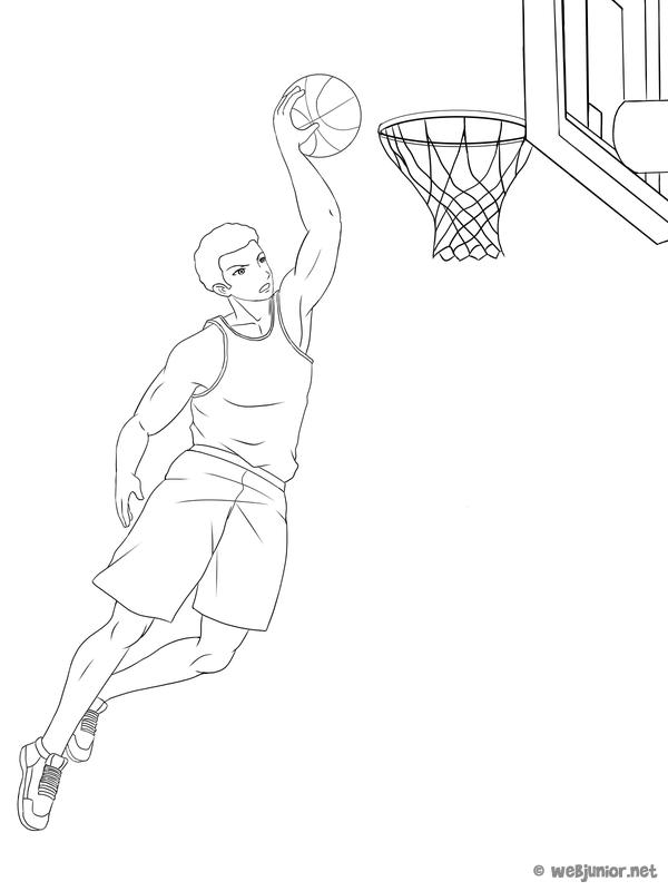dessin de basket