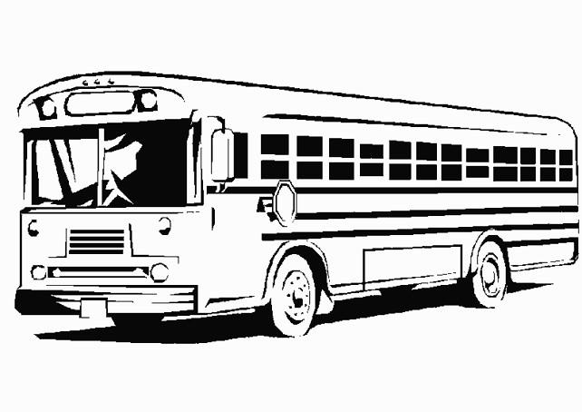 Dessin De Bus Les Dessins Et Coloriage