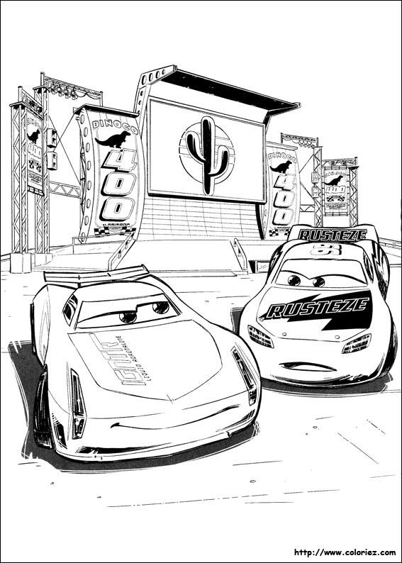 Dessin De Cars 3 A Imprimer Les Dessins Et Coloriage