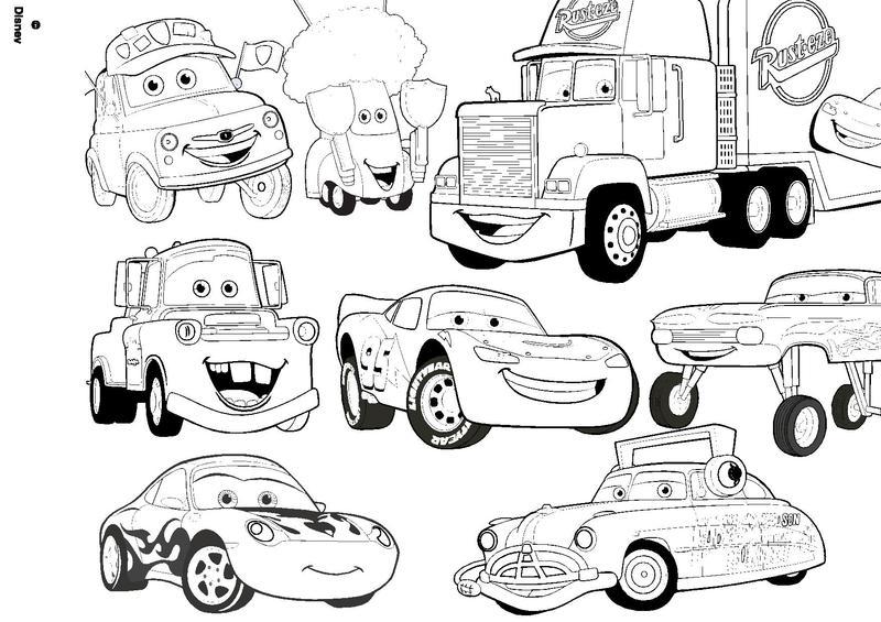 Coloriage Cars Et Martin.Dessin De Cars 3 A Imprimer Les Dessins Et Coloriage