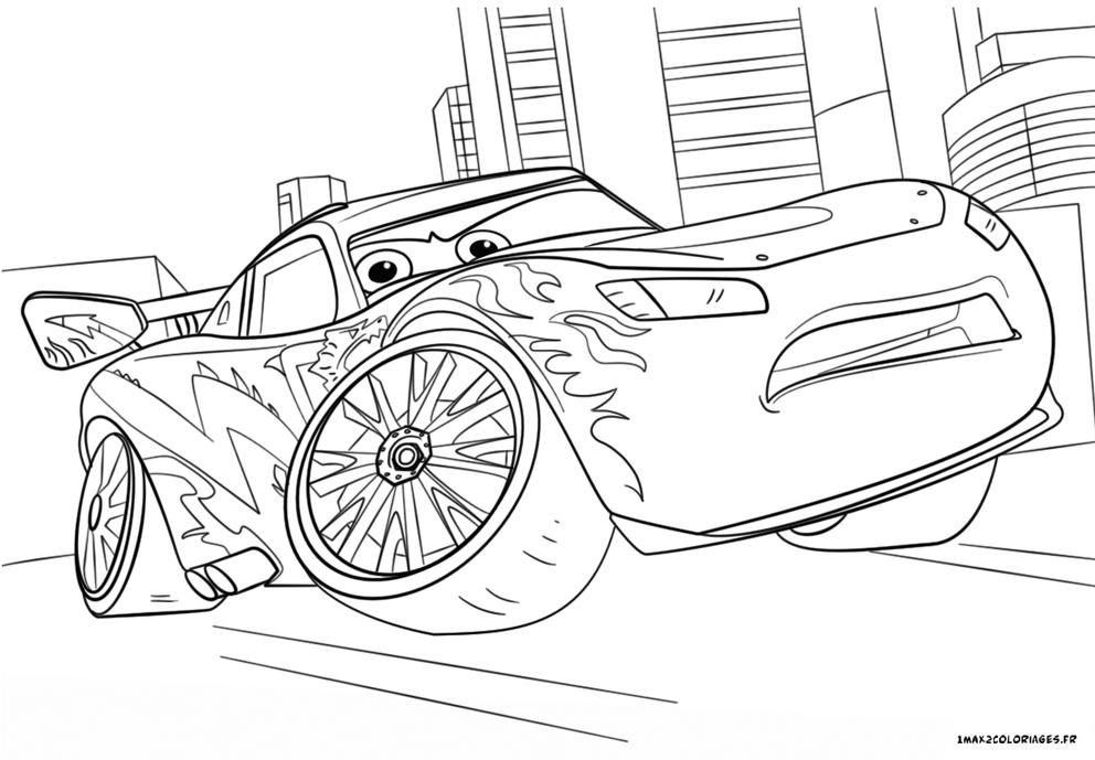 dessin de cars 3