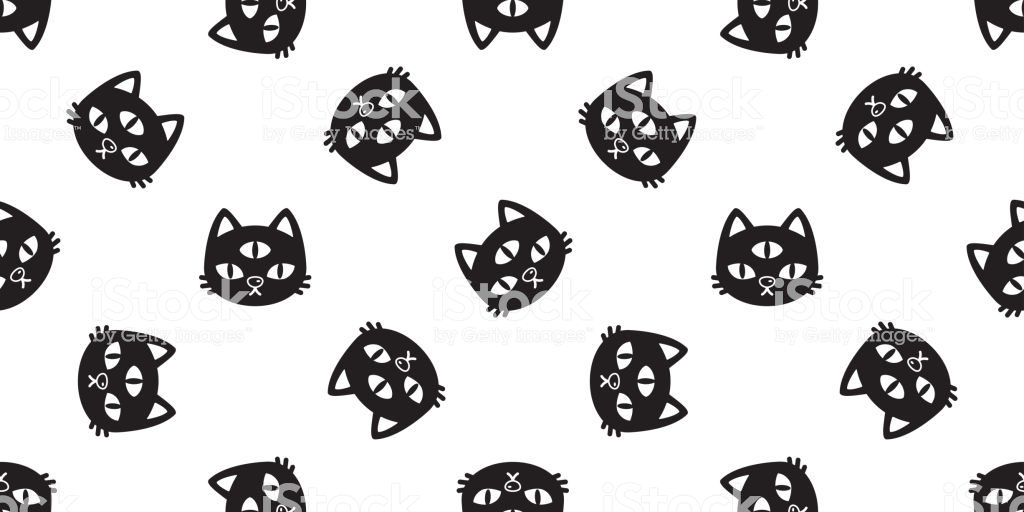 dessin de chat halloween