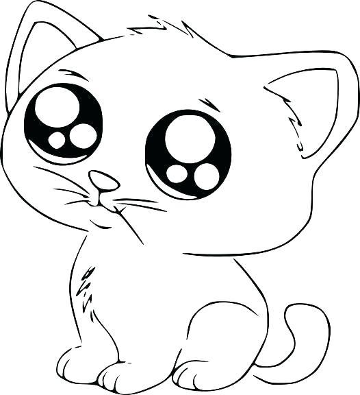 dessin de chat imprimer gratuit