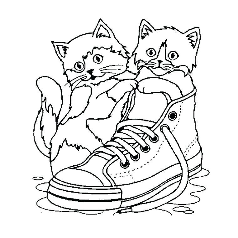 dessin de chat mandala
