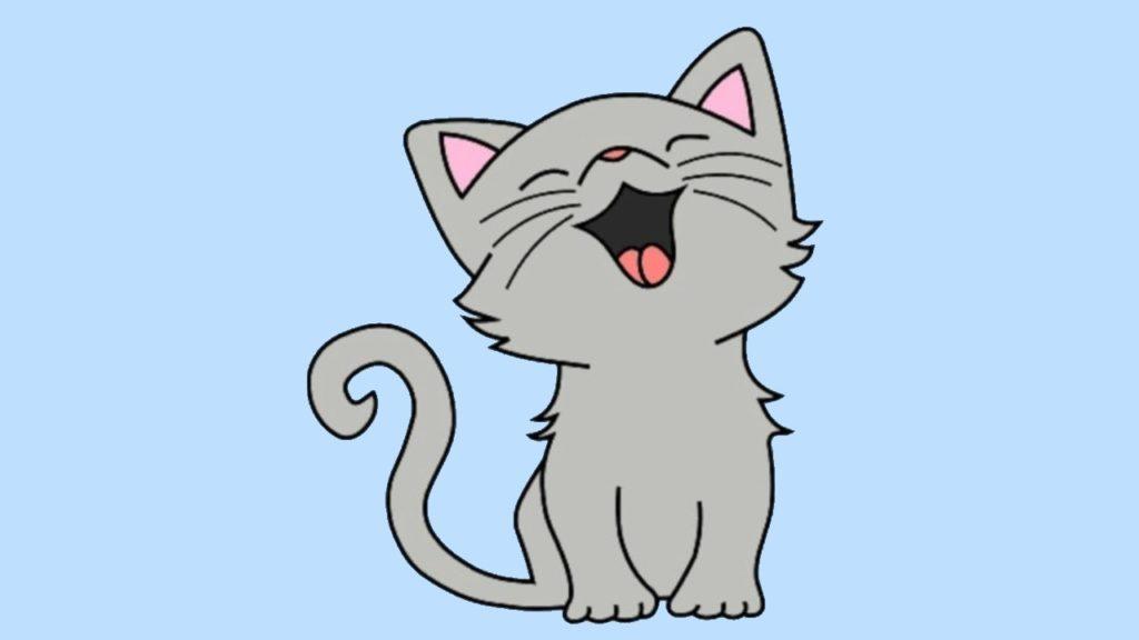dessin de chat mignon - Les dessins et coloriage