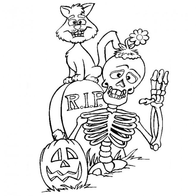 Dessin De Chat Noir Halloween Les Dessins Et Coloriage