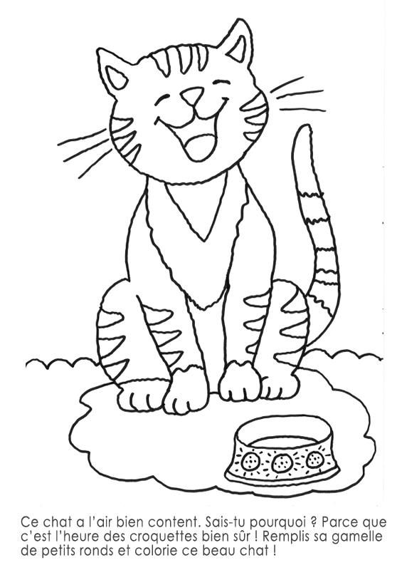 dessin de chat petit - Les dessins et coloriage