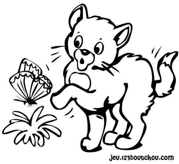 dessin de chat trop chou