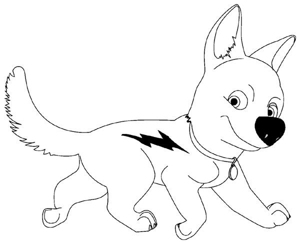 dessin de chien a imprimer - Les dessins et coloriage
