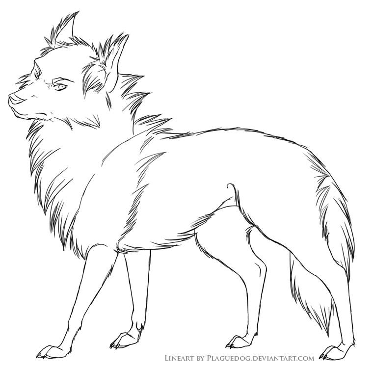 dessin de chien a reproduire