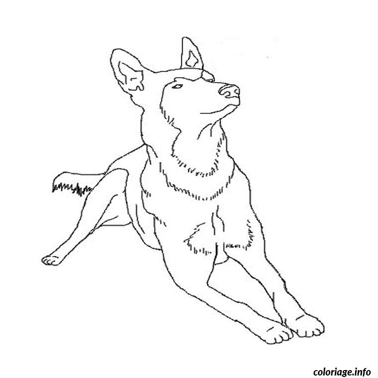 Dessin de 2 meilleures amies les dessins et coloriage - Dessin de chien berger allemand ...