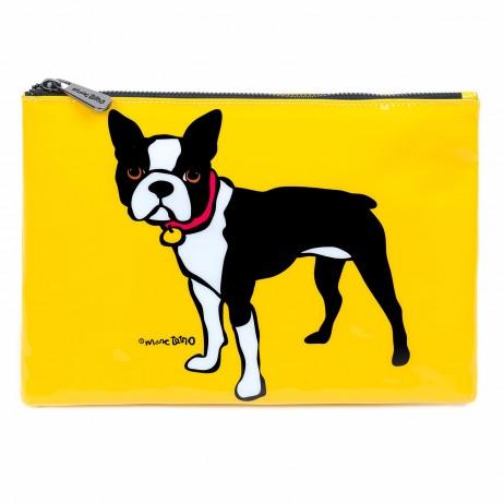 dessin de chien boston terrier