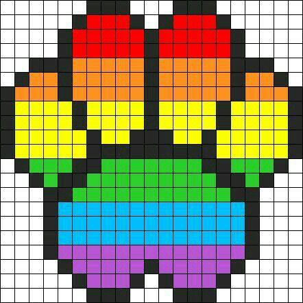dessin de chien en pixel