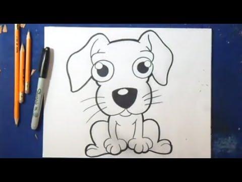 dessin de chien etape par etape