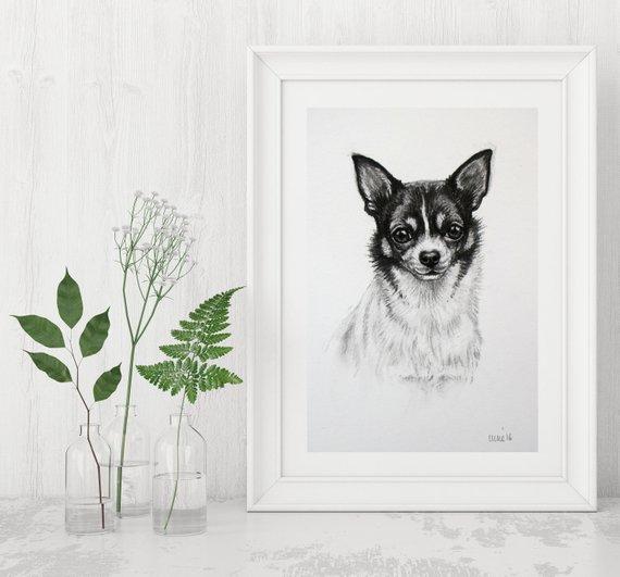 dessin de chien fox terrier