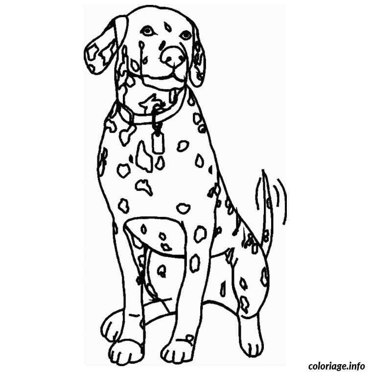 dessin de chien noel