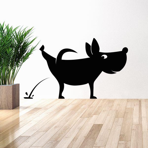 dessin de chien qui pisse