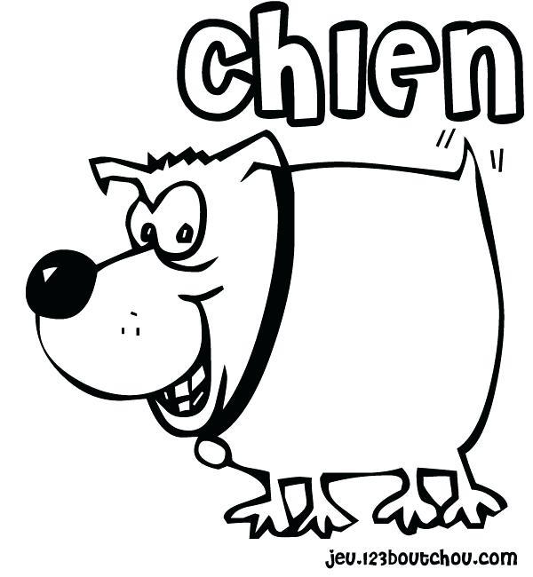 dessin de chien trop mignon a imprimer gratuit