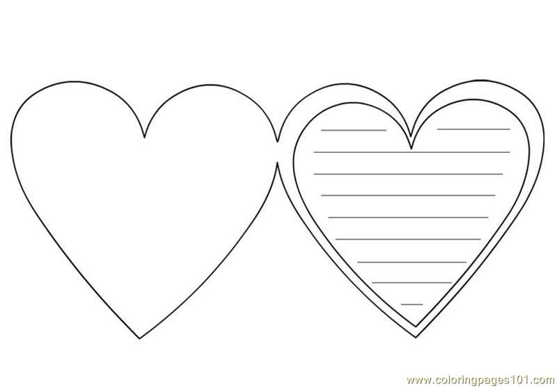 Coloriage Coeur Amour Gratuit.Dessin De Coeur A Imprimer Les Dessins Et Coloriage