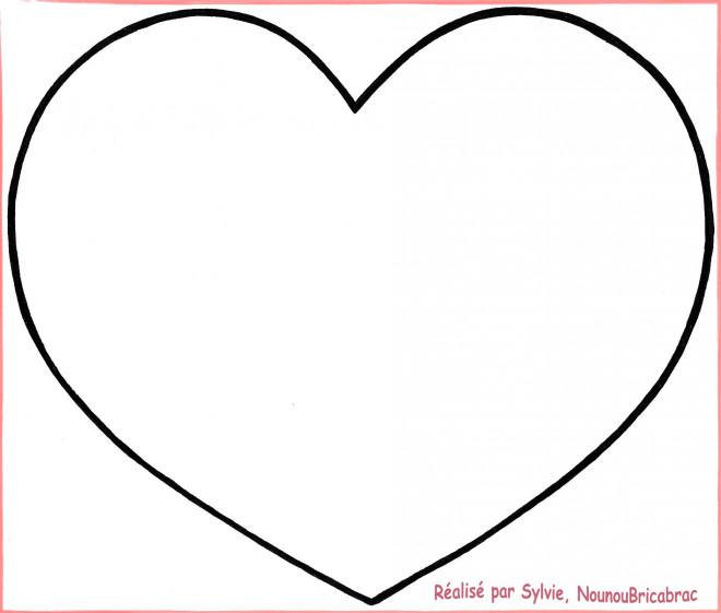 dessin de coeur a imprimer - Les dessins et coloriage
