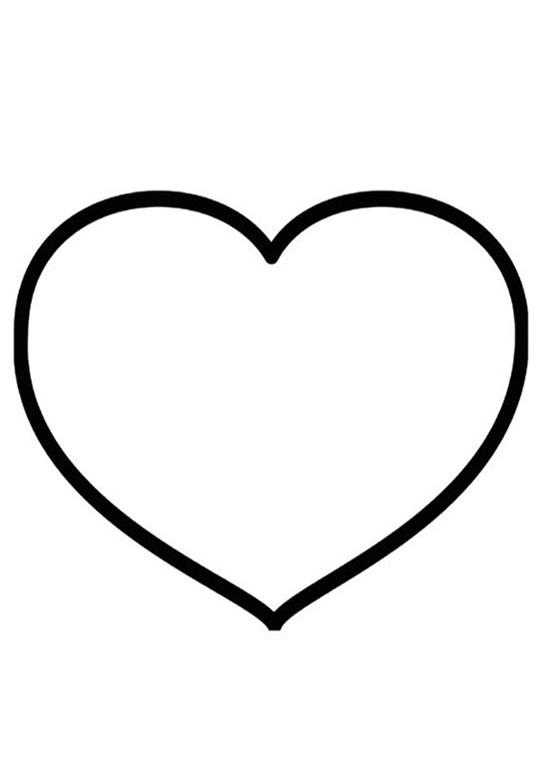Dessin De Coeur Les Dessins Et Coloriage
