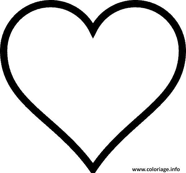 Dessin De Coeur D Amour Facile