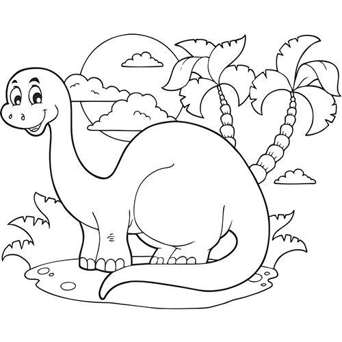 Dessin De Dinosaure A Imprimer Les Dessins Et Coloriage