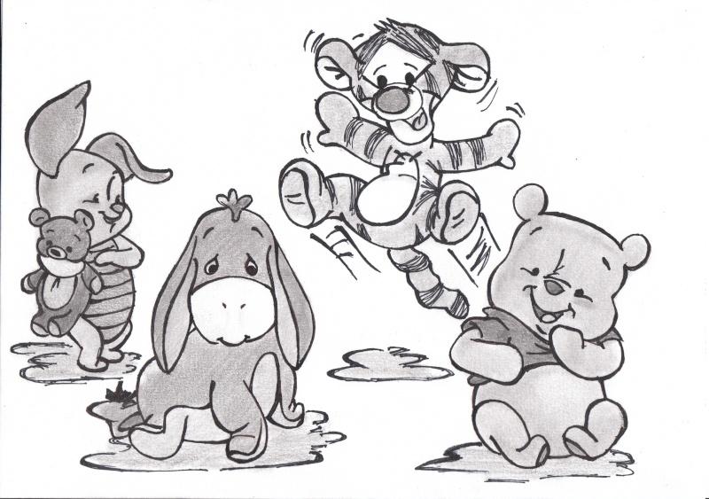 dessin de disney - Les dessins et coloriage