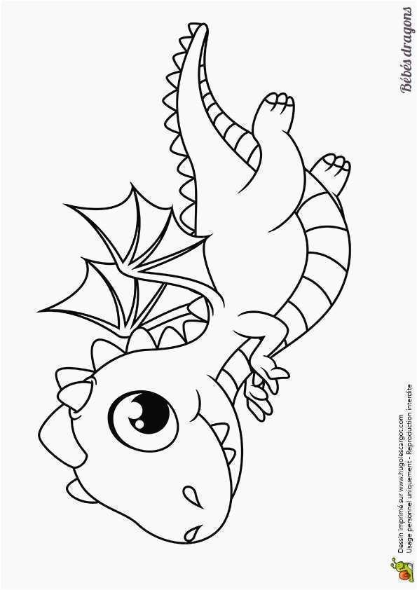 dessin de dragon facile - Les dessins et coloriage