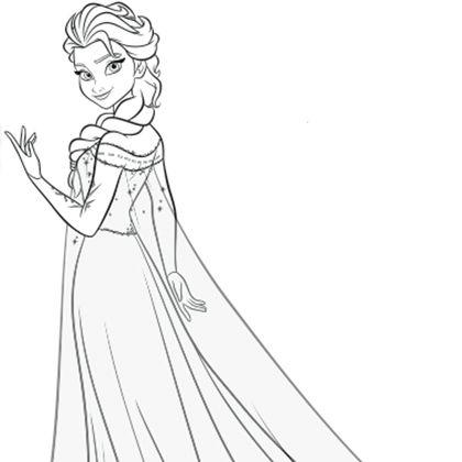 Dessin De Elsa Les Dessins Et Coloriage