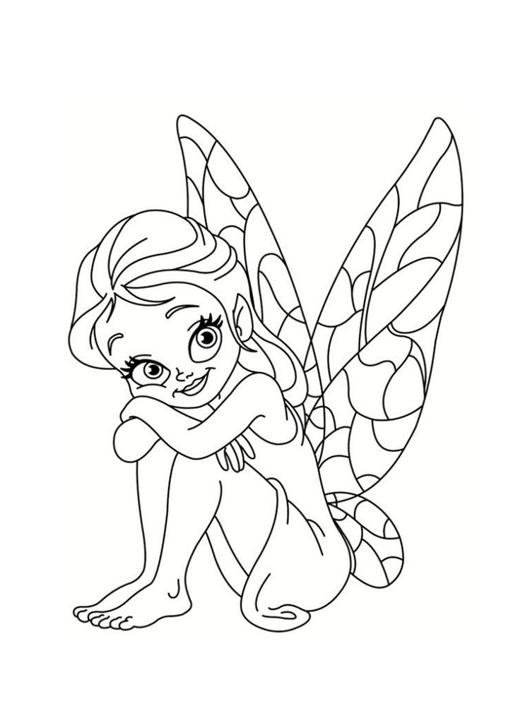 dessin de fee - Les dessins et coloriage