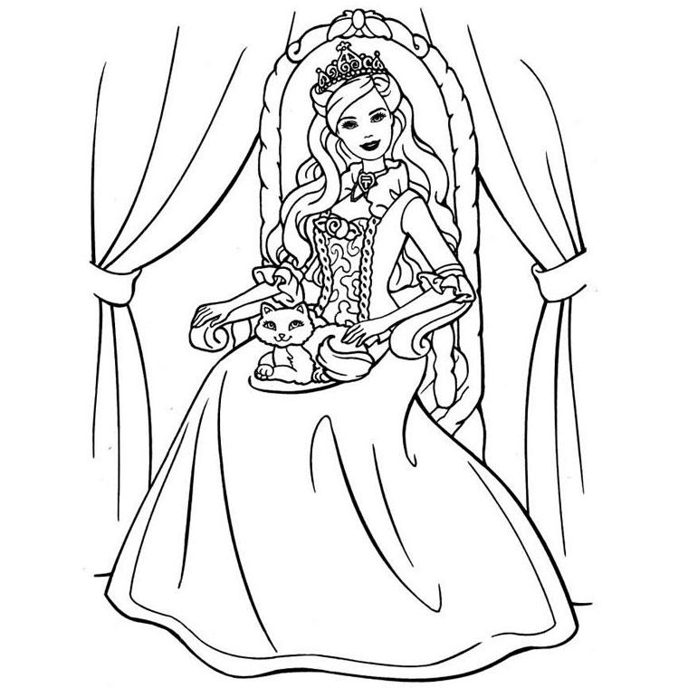 dessin de fille 7 ans