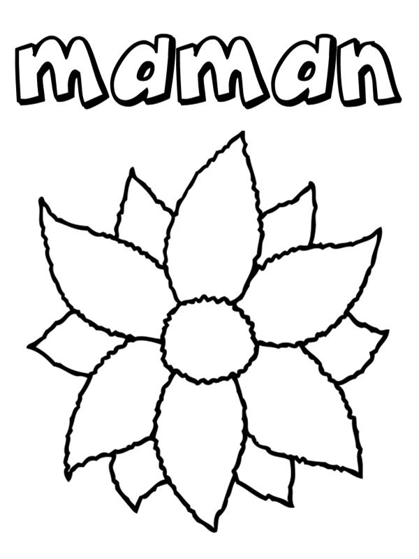 Dessin De Fleurs A Imprimer Les Dessins Et Coloriage