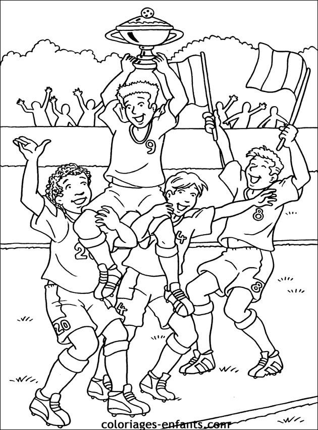 dessin de foot a imprimer Les dessins et coloriage