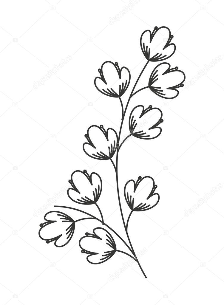 Coloriage Guirlande Fleurs.Dessin De Guirlande Les Dessins Et Coloriage