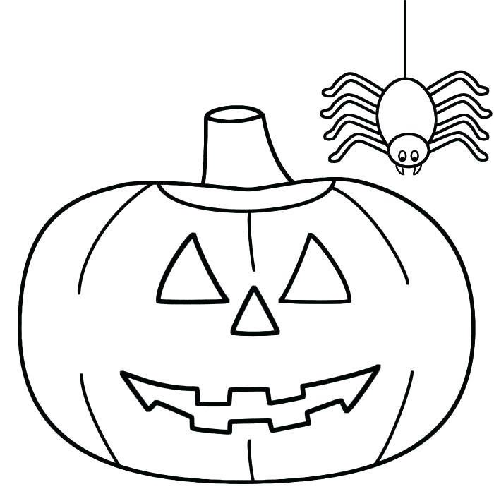 Dessin De Halloween Facile Les Dessins Et Coloriage