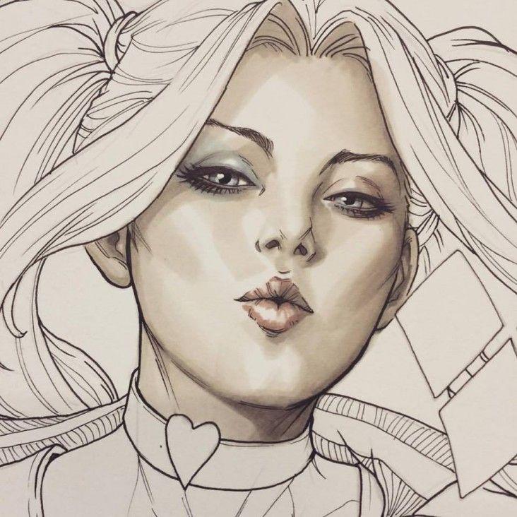 Dessin De Harley Quinn Les Dessins Et Coloriage