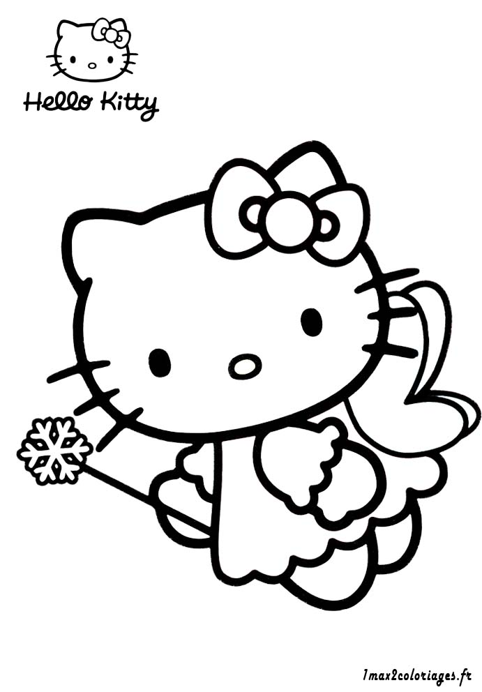 dessin de hello kitty