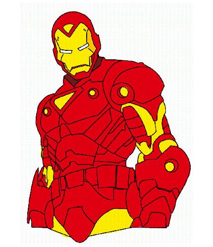 Dessin De Iron Man En Couleur Les Dessins Et Coloriage