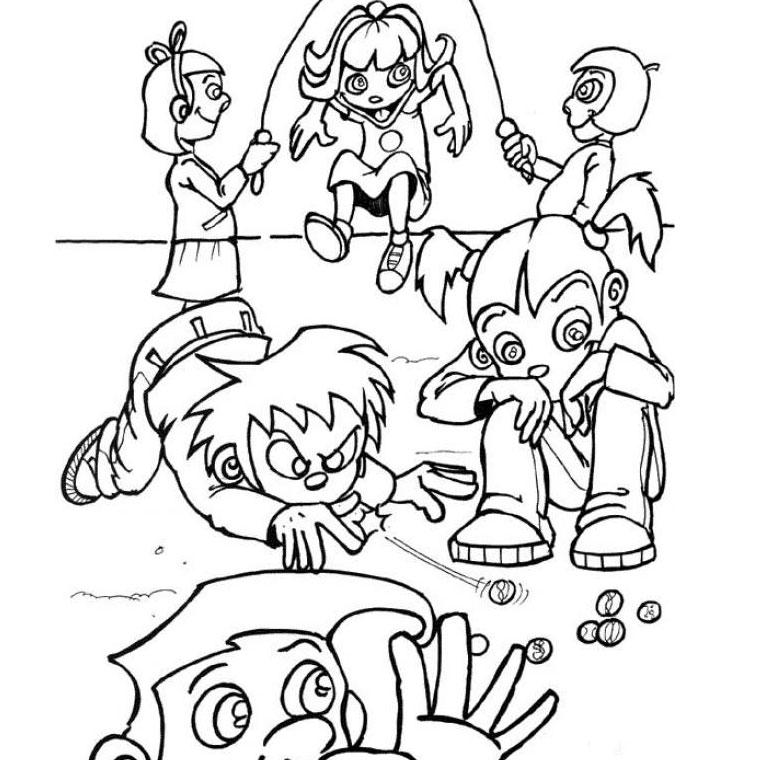 dessin de jeux - Les dessins et coloriage