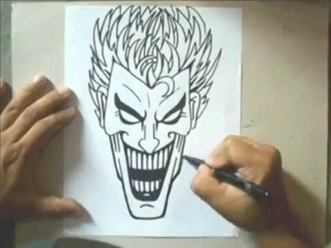 Dessin De Joker Les Dessins Et Coloriage