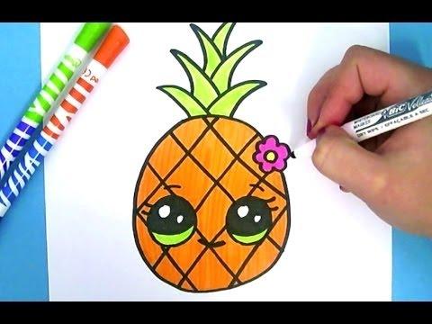 dessin de kawaii facile - Les dessins et coloriage