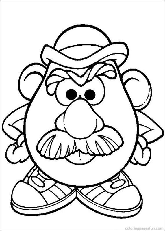 dessin de m patate